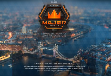 Valve Releases CS:GO Stickers for FACEIT London Major and a Free Version of CS:GO